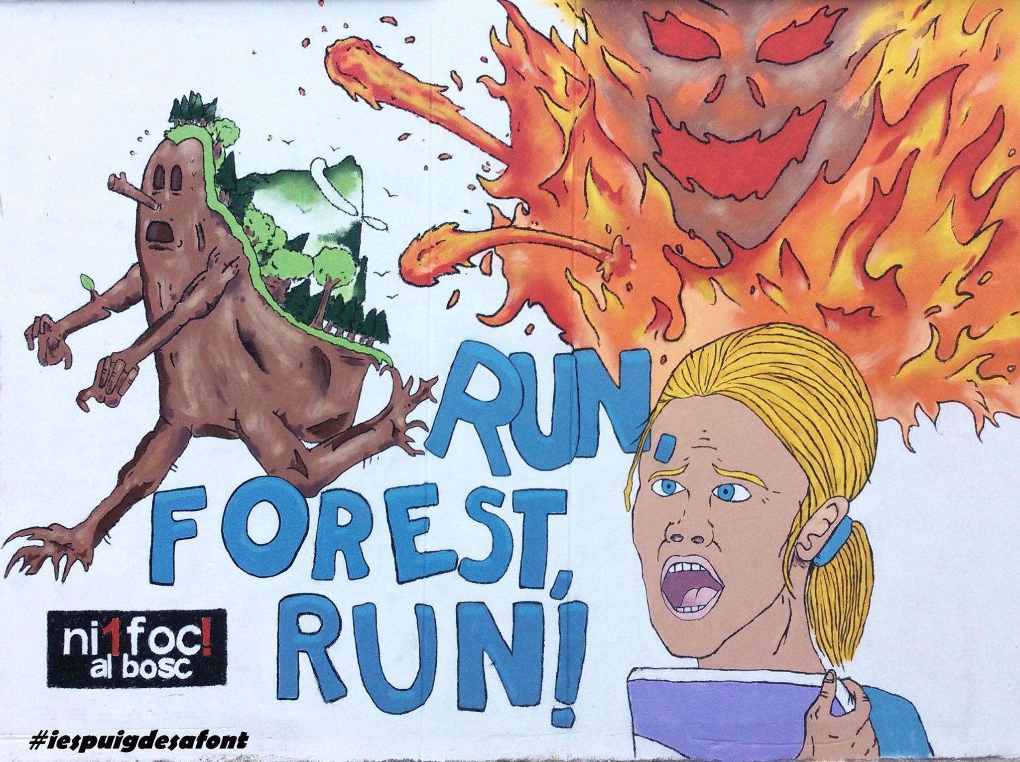 Sath Ni 1 foc al bosc